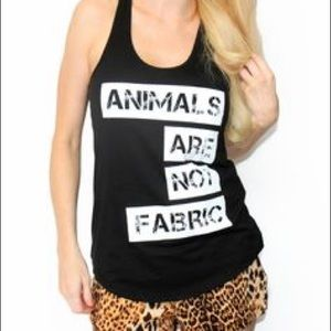 Animals Are Not Fabric Muscle Tank